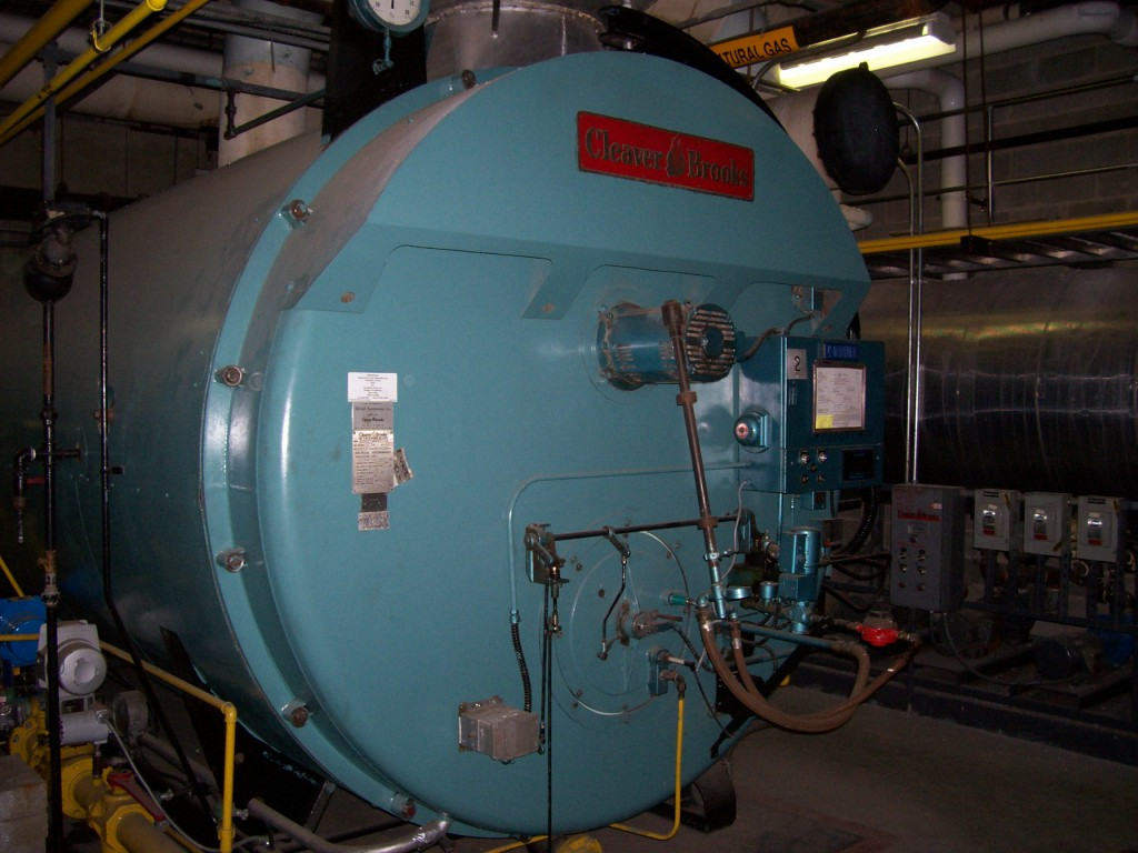 400 HP Boiler Combination Oil / Natural Gas