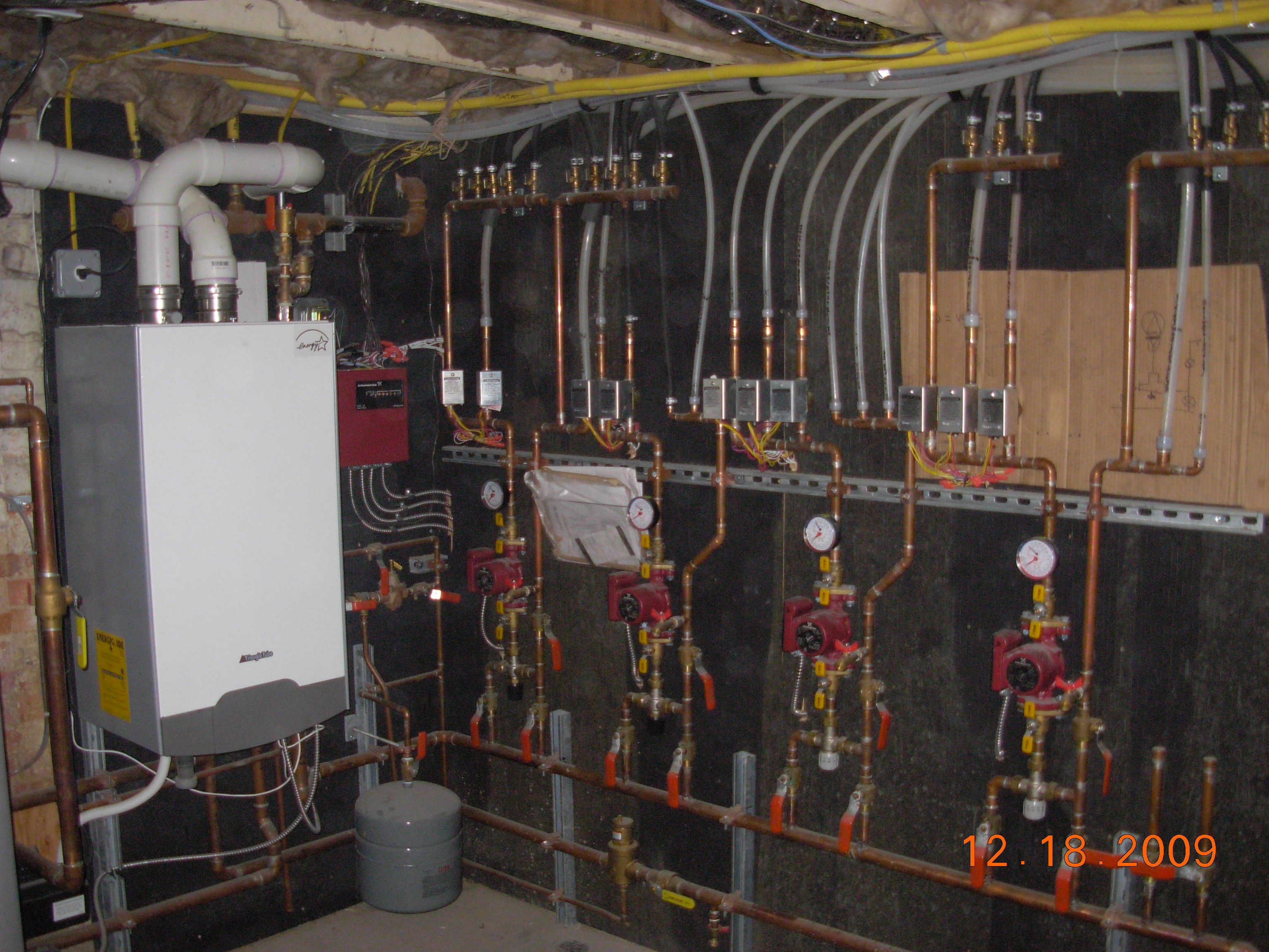 High Eff. Boiler with Radiant Floor Heating System Design and ...