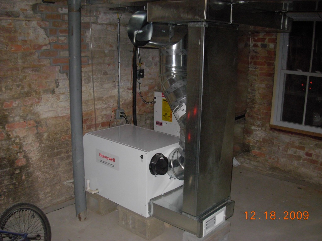 Whole House Dehumidification with High Velocity Central A/C Design and Installation