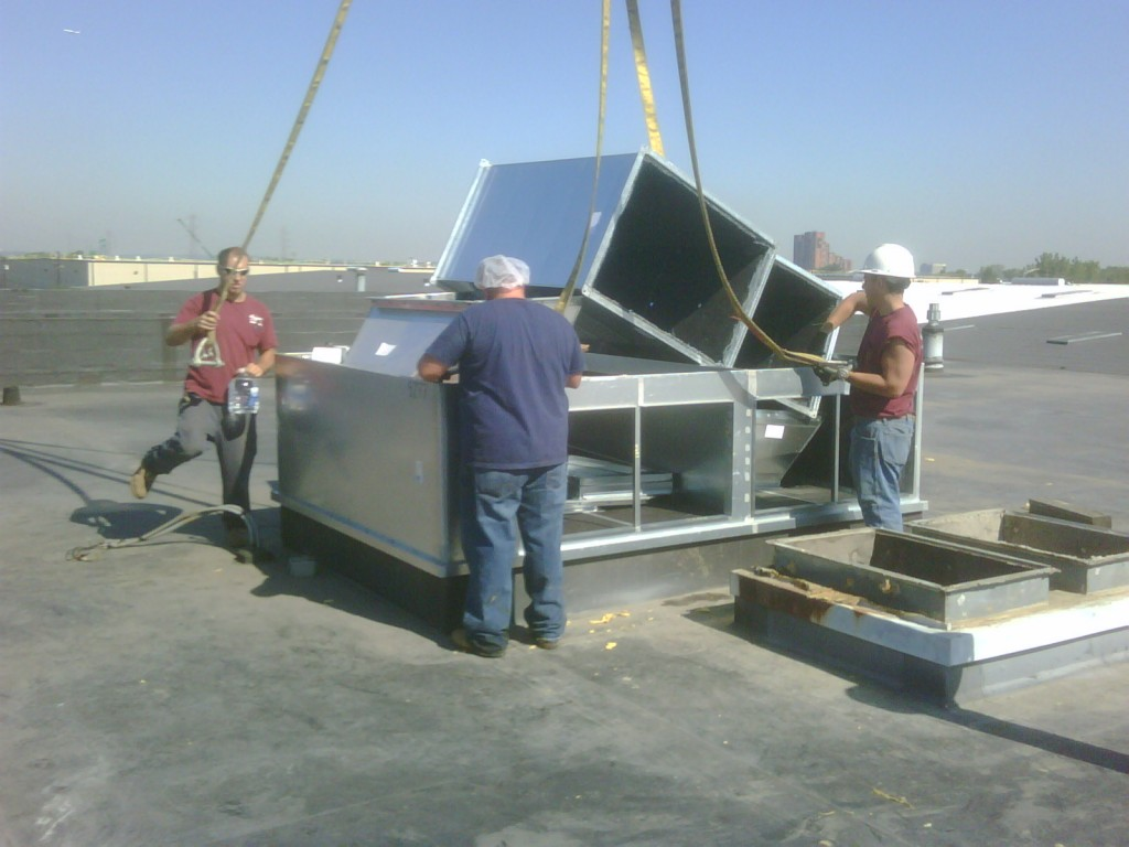 Rooftop Unit and Curb Replacement