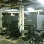 125 Tons Each Trane Chillers