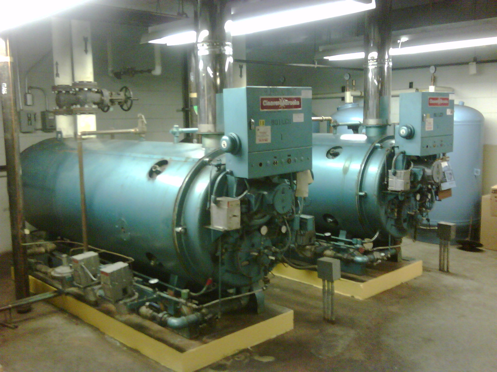 Cleaver Brooks Natural Gas Boilers | Environmental Air Systems