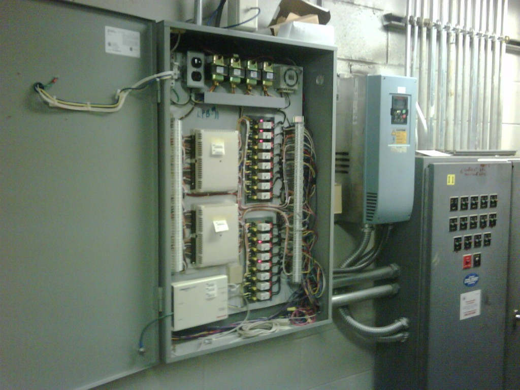 Honeywell Automated Controls Upgrade with VFD Controllers