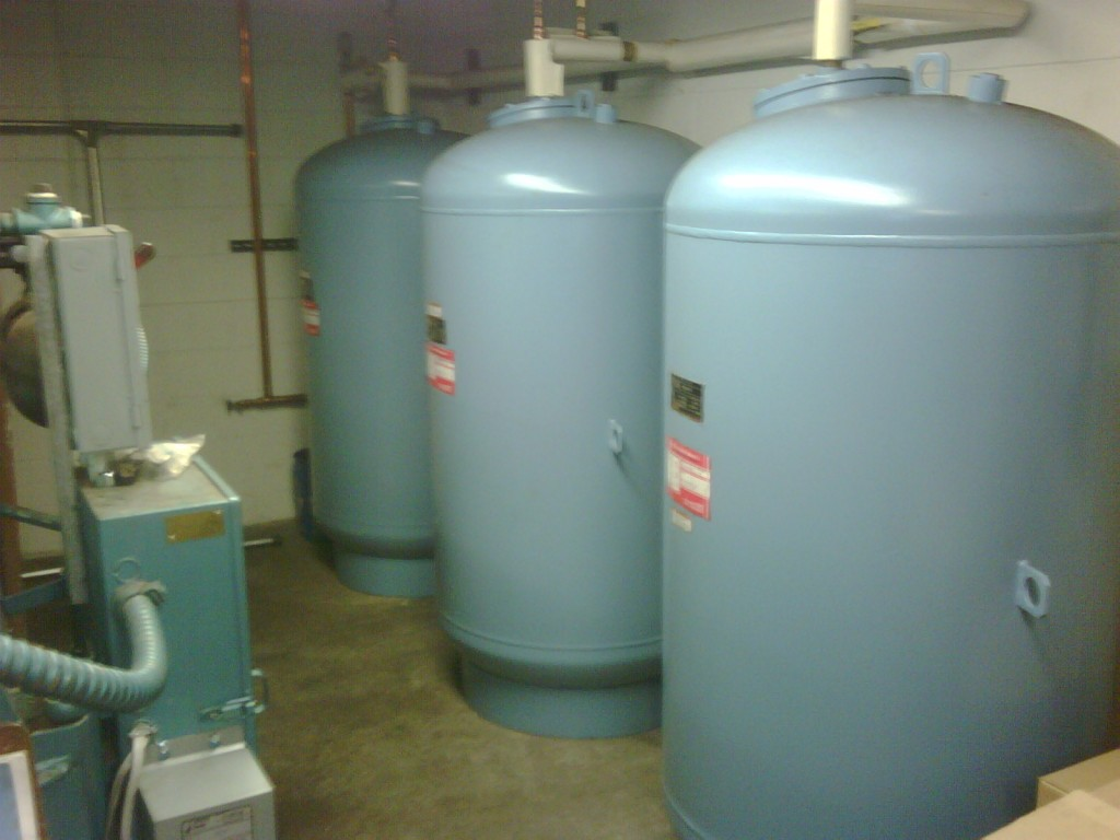 Commercial Expansion Tank Upgrade