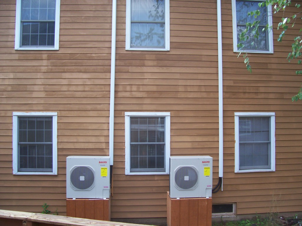 Ductless A/C Unit Installation