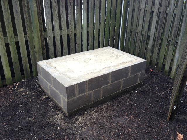 Elevated Storm Rated Generator Pad