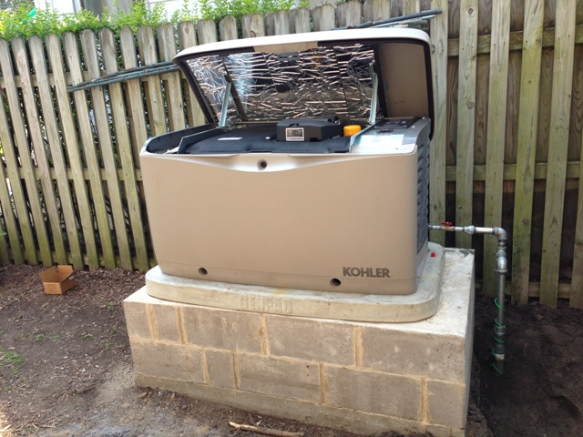 house generator. perfect generator whole house generator on storm rated pad with r