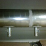 Spiral Ductwork for Dehumidifaction of Rice Hoppers