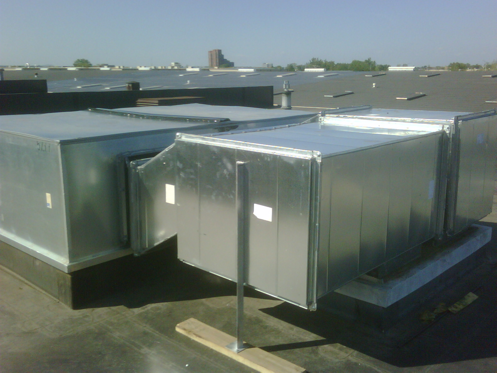 Rooftop Units Duct : Commercial photo gallery environmental air systems