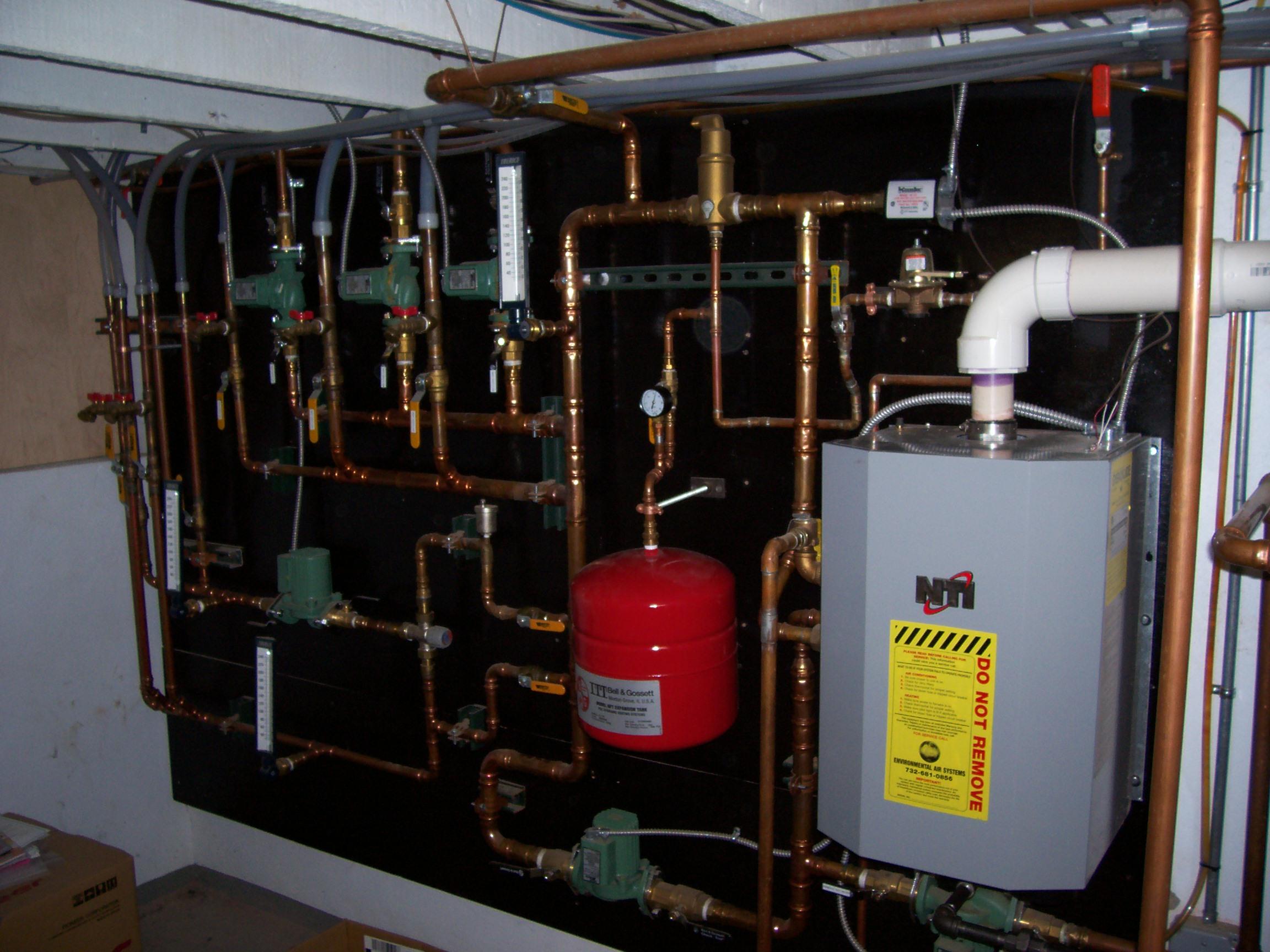 In Floor Heat Boiler System | Sevenstonesinc.com
