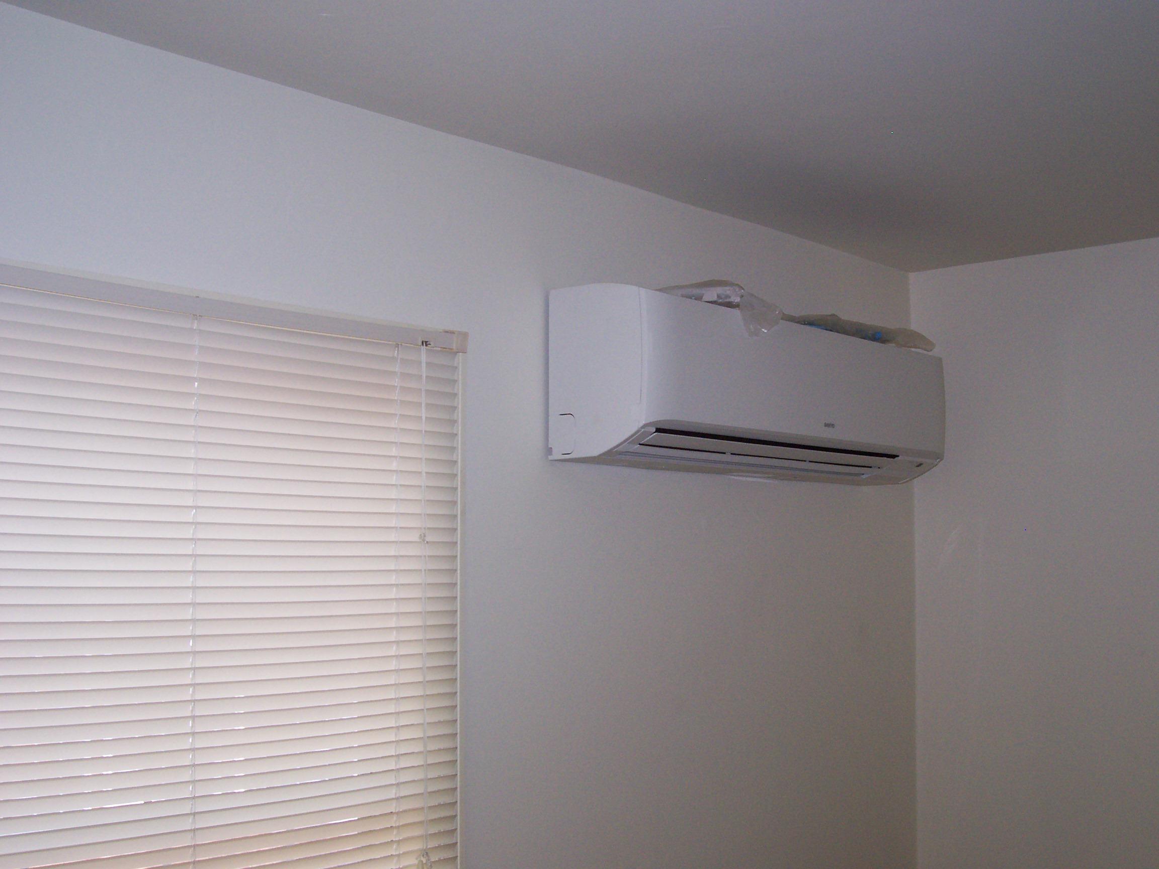 Ductless A/C Evaporator Unit